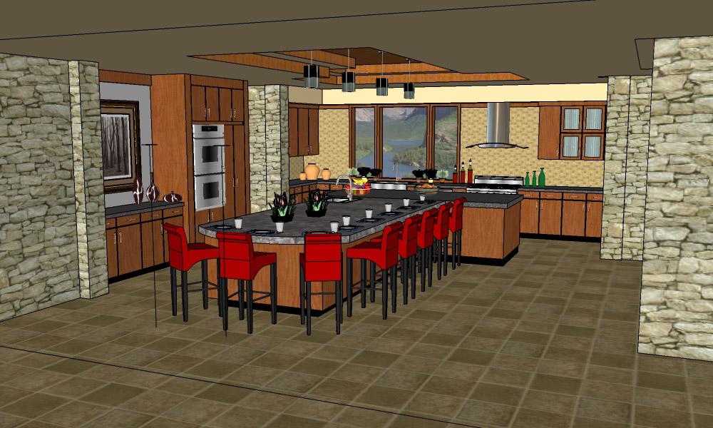 Jmp strt google sketchup for Kitchen designs sketchup