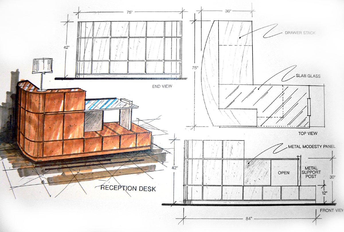 Jmp Strt  Custom Millwork - Dining Room Set With Buffet