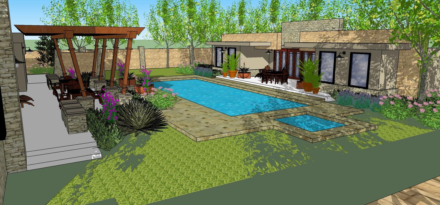Jmp strt portfolio for Pool design sketchup
